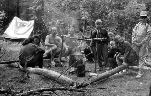 Советская семья в походе СССР, быт, воспоминания, ностальгия, фото
