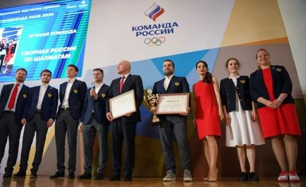 Лучших спортсменов России наградили премией «Серебряная лань»