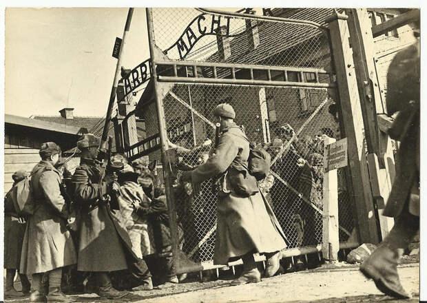 Освобождение концлагеря Освенцим (Auschwitz- Birkenau). 27 января 1945 года