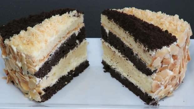 Королевский сметанный торт: очень простой и вкусный рецепт
