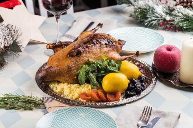 Утка с айвой и с квашеной капустой. 6 новогодних эффектных блюд