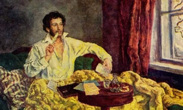 Александр Пушкин был большой любитель русской кухни. Фото: Oede.by