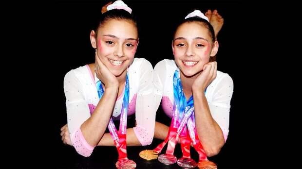 Азербайджанские близняшки тащат британскую гимнастику. Джессика Гадирова на ЧЕ отняла у России золото в вольных