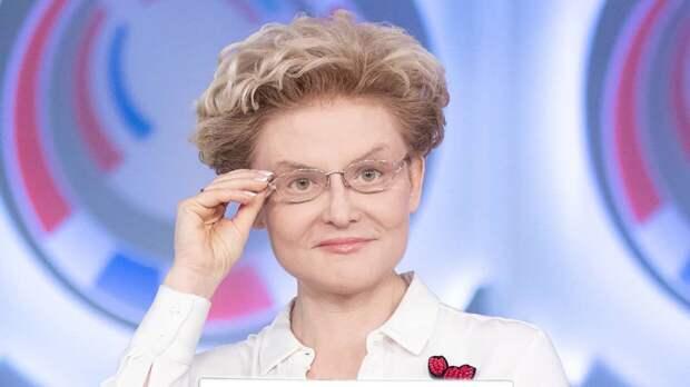 Елена Малышева обратилась к пенсионерам с лишним весом