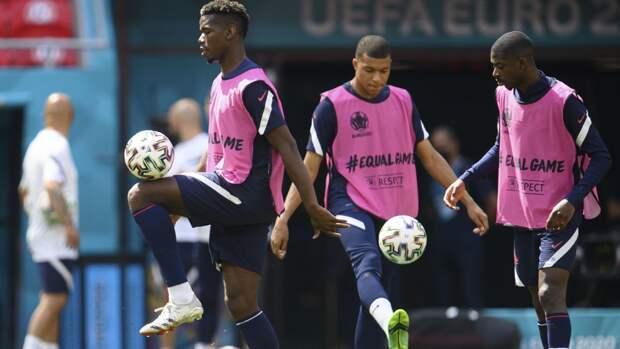 Франция и Португалия сыграли вничью в матче чемпионата Европы