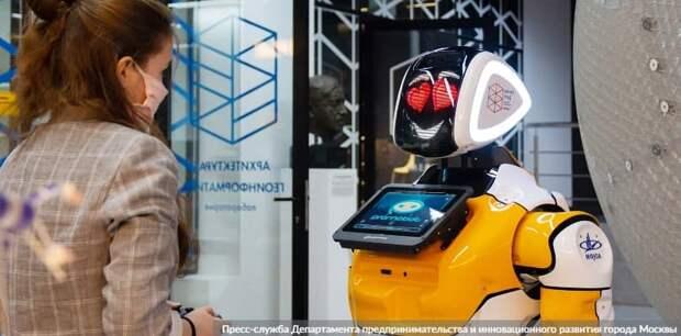 Сергунина: Обучение в детских технопарках Москвы прошли более 280 тыс. школьников. Фото: Пресс-служба Департамента предпринимательства и инновационного развития города Москвы