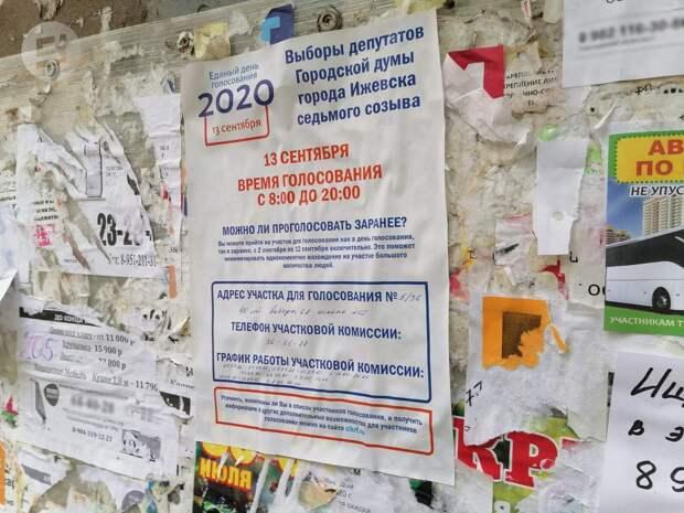 Более 40 жалоб поступило в избиркомы Удмуртии перед единым днем голосования