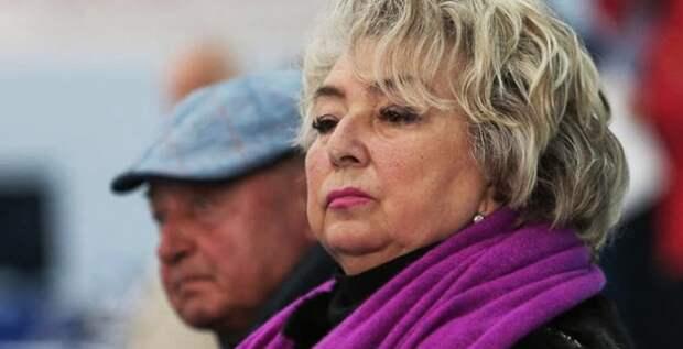 Татьяна Тарасова раскритиковала фильм «Лед»