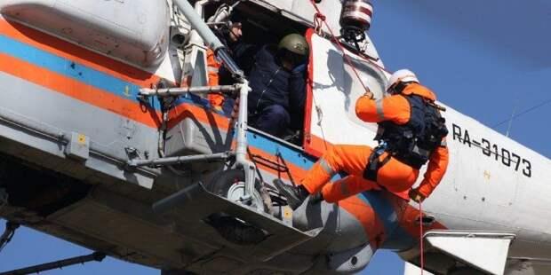 В июле сотрудники Московского авиацентра спасли 39 человек