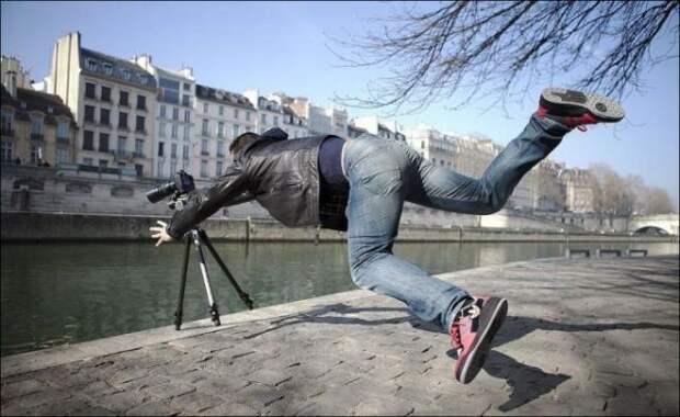 Падает камера