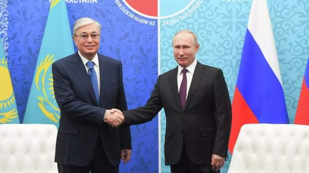В Казахстане рассказали о телефонном разговоре Путина и Токаева