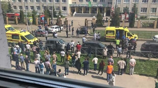 В Сети появилась полная аудиозапись происходившего во время стрельбы в казанской гимназии
