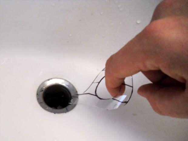 Невероятное изобретение для очистки слива от волос