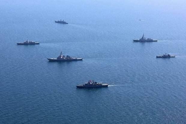 Чёрное море приветствует идущих на смерть участников «Sea Breeze-2021»