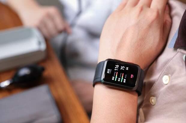 Официально: Huawei работает над смарт-часами, которые получат функцию измерения кровяного давления
