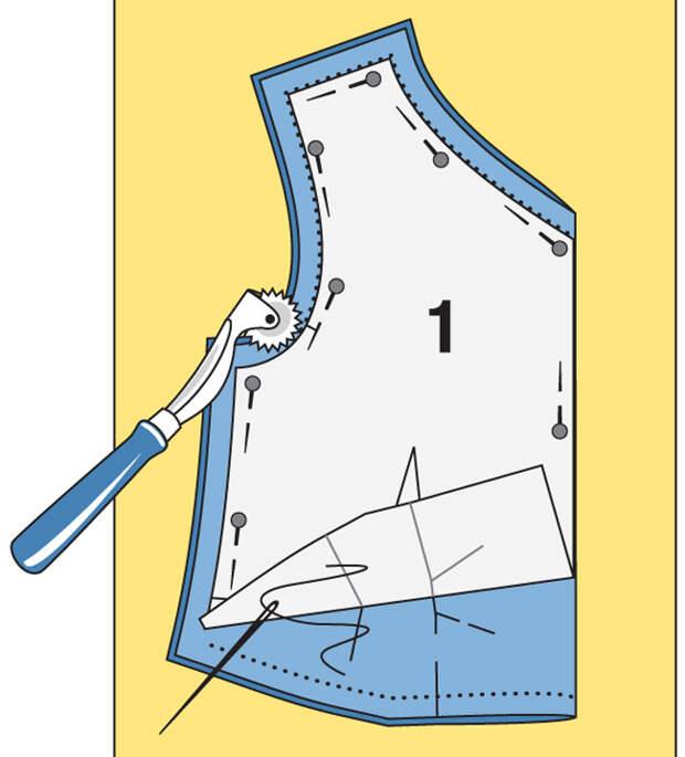 Как сшить платье-футляр с оригинальными планками