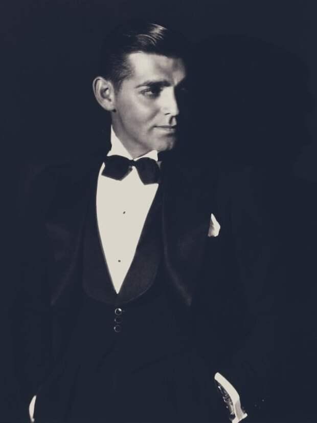 Настоящий джентльмен Кларк Гейбл.
