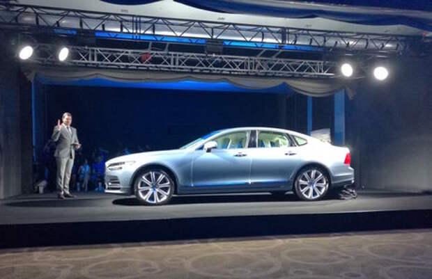 Новый Volvo S90 представили до ММАС-2016