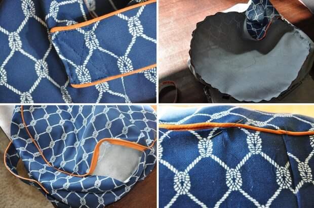 Легкий и удобный пуфик, который впишется в любой интерьер. Подробная инструкция по шитью