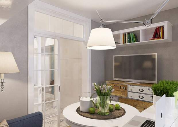 Функционально, уютно и красиво. Очаровательная студия 25 кв.м