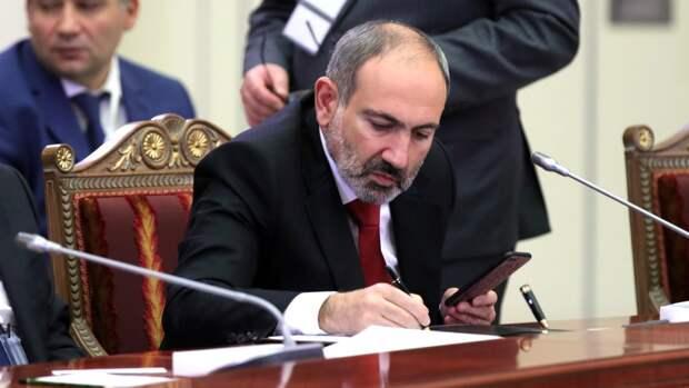 Пашинян направил Путину письмо с просьбой о помощи из-за конфликта в Сюникской области