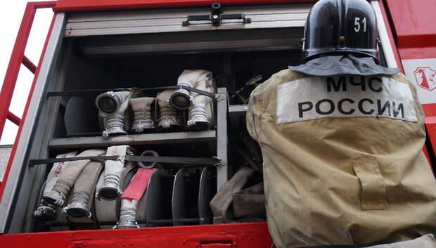 Пожаром закончилась попытка пожарить шашлыки возле дома в Нахабино