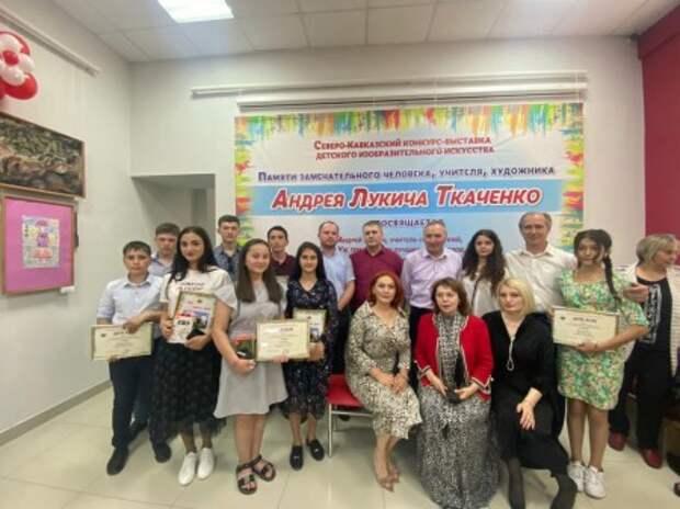 Воспитанники детской школы искусств Нижнего Куркужина отличились на выставке