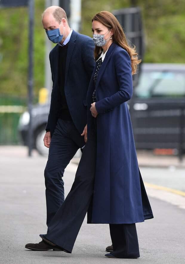 Королевский family-look: новый выход Кейт Миддлтон и принца Уильяма