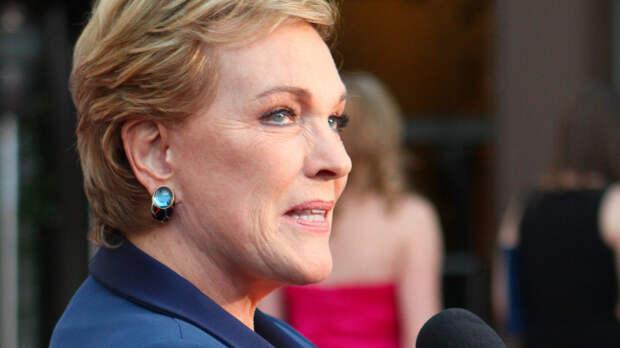 Джули Эндрюс прокомментировала получение почëтного приза Венецианского кинофестиваля