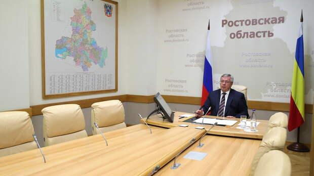 Почти на500тыс сократился в2020 году доход губернатора Ростовской области