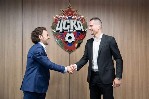 Заболотный официально перешел в ЦСКА
