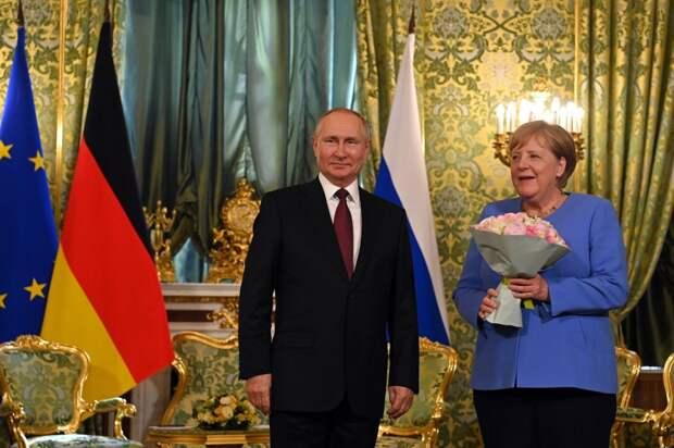 Зеленский наградит Меркель орденом, а она ему что, выговор?