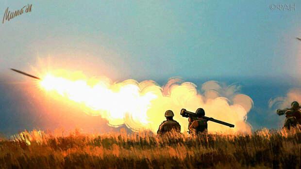 ДНР сообщает о новых обстрелах сел со стороны ВСУ