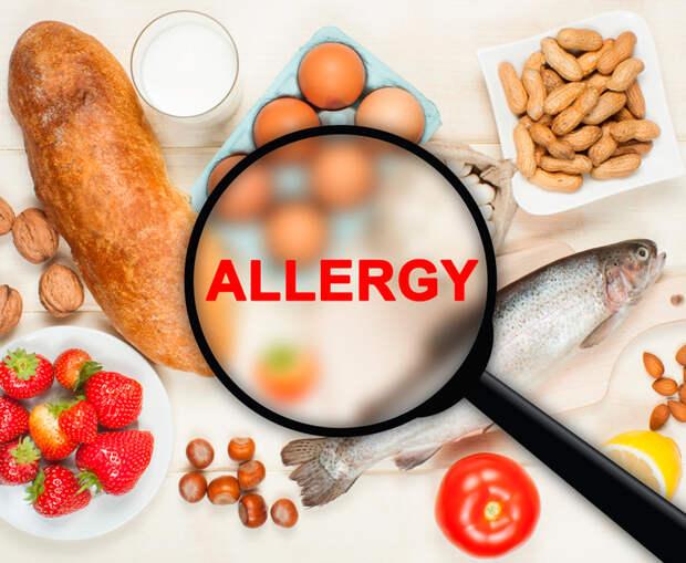 Пищевая аллергия...