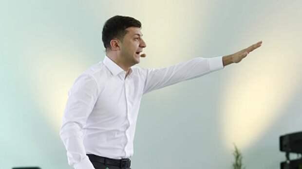"""Действия президента Украины в Раде назвали """"зеленым фашизмом"""""""