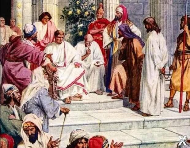 Иисус на суде у Понтия Пилата