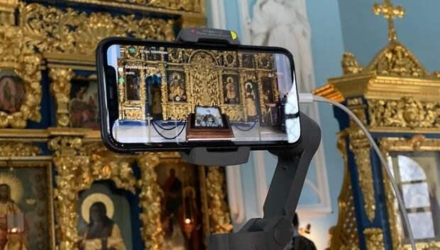 В Знаменском храме Подольска организовали онлайн‑трансляцию богослужений