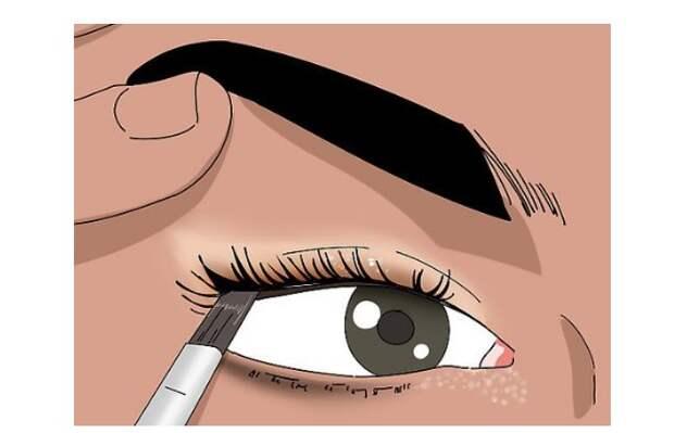 Частые ошибки в макияже нависшего века