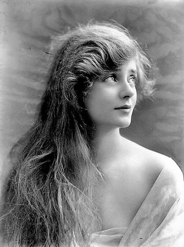 Британская актриса Эвелин Лей, 1917