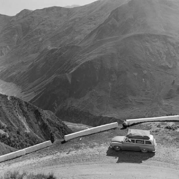Серпантин. Кавказ, 1967 год.