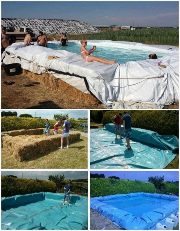 Самодельный бассейн. | Фото: Телеграф, 4Pool.