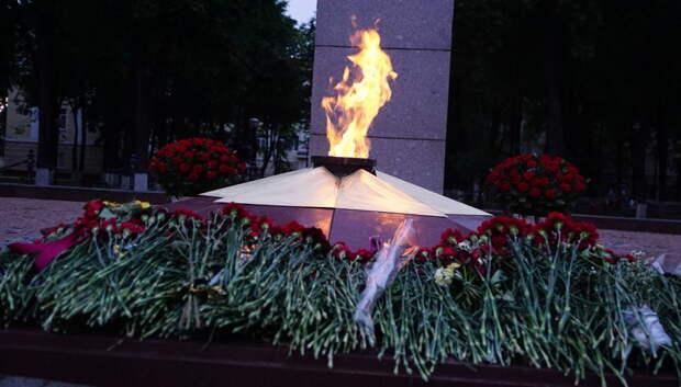 Молодой человек пытался потушить пламя Вечного огня в Подольске