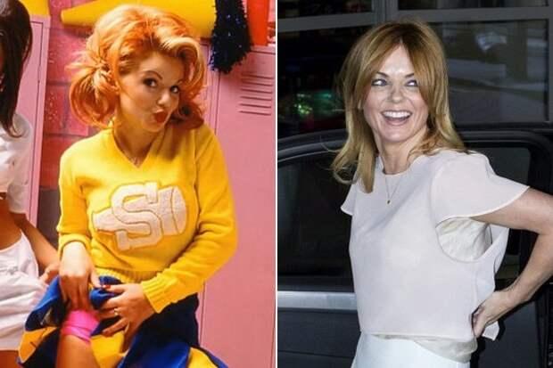 Участницы популярной в 90-ых молодежной группы Spice Girls тогда и сейчас.