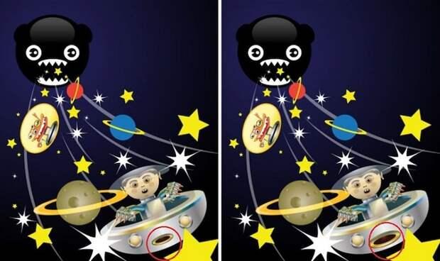Головоломка: нужно быть гением, чтобы заметить разницу между этими картинами!