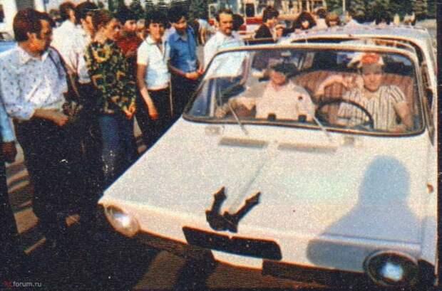 """Самодельный автомобиль-амфибия """"Ихтиандр"""" СССР, амфибия, самоделка"""