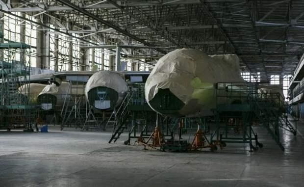 На Харьковском авиазаводе признали, что больше не в состоянии делать самолеты
