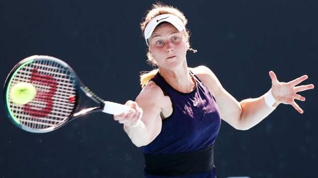 Самсонова вышла во 2-й круг турнира в Чарльстоне