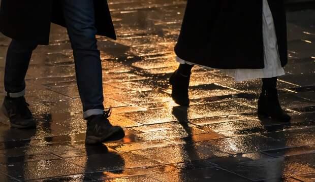 Тротуар после дождя / Фото: pixabay.com