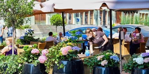 Кафе Gucci в центре Москвы грозит закрытие за нарушение антиковидных мер / Фото: Ю.Иванко, mos.ru