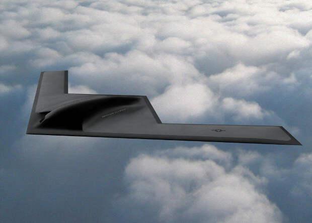 Завершилось эскизное проектирование нового американского бомбардировщика